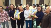 Trao 17 tấn gạo hỗ trợ cho người dân vùng lũ