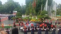 Bắn 21 loạt đại bác chào mừng Chủ tịch nước Trung Quốc tới Việt Nam