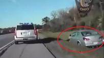 Cậu bé 10 tuổi bị bắt khi điều khiển ôtô ở vận tốc 160 km/h