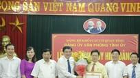 Trao Huy hiệu tuổi Đảng cho Phó Bí thư Thường trực Tỉnh ủy Nguyễn Xuân Sơn