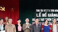 Tương Dương bế giảng lớp học chữ Thái Lai Pao
