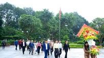 Tỉnh ủy Quảng Ninh dâng hương tại Khu di tích Kim Liên