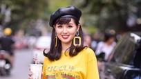 Hot girl Tâm Tít tái xuất sau 3 tháng sinh con trai