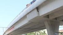 Cầu vượt quốc lộ 1A 371 tỷ đồng ở Nghệ An sẽ thông tuyến trước Tết dương lịch