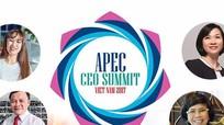 4 gương mặt Việt Nam đăng đàn tại APEC CEO Summit: Họ là ai?