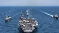 Trump thăm châu Á, Mỹ điều 3 tàu sân bay tập trận gần bán đảo Triều Tiên