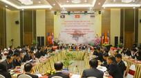 Lãnh đạo 9 tỉnh, 3 nước Việt Nam - Lào - Thái Lan họp bàn đẩy mạnh hợp tác