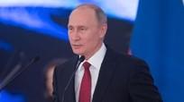 Tổng thống Putin: Nga ủng hộ thành lập khu vực thương mại tự do châu Á-Thái Bình Dương