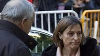 Cựu Chủ tịch Nghị viện Catalonia ra trình diện Tòa án Tối cao