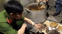 Nổ súng bắt nhóm người nấu cao một con hổ 200kg