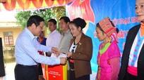 Đồng chí Phan Đình Trạc dự Ngày hội Đại đoàn kết với đồng bào vùng cao Nghệ An