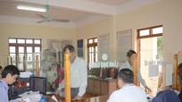 Đoàn kiểm tra liên ngành nhắc nhở bộ phận một cửa xã Nghi Kim (TP. Vinh), Nghi Thịnh (Nghi Lộc)