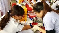 1400 cán bộ viên chức tham gia hiến máu nhân đạo ở Đô Lương