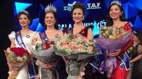 Cô gái Nghệ An đăng quang tại cuộc thi sắc đẹp Nữ hoàng Kim cương 2017