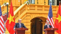 Việt - Mỹ ra tuyên bố chung làm sâu sắc quan hệ đối tác toàn diện