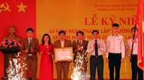 Trường THPT Lê Viết Thuật đón nhận Huân chương Lao động hạng Nhất