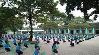 Trường học miền núi đưa dân ca xứ Nghệ vào hoạt động giữa giờ hàng ngày