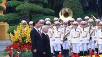 Ra Tuyên bố chung Việt Nam - Trung Quốc