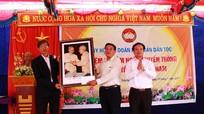 Trưởng ban Tuyên giáo Tỉnh ủy dự ngày hội đại đoàn kết tại Quỳnh Lưu