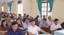 Sở Thông tin và Truyền thông tập huấn Luật Báo chí tại Đô Lương