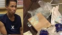 Đối tượng mang ma túy, dùng dao đâm 1 cảnh sát cơ động bị thương