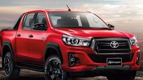 Toyota Hilux 2018 thay đổi thiết kế giống Tacoma
