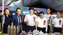 Nhiều thương hiệu lớn 'vào' hội chợ công thương cấp vùng tổ chức ở Nghệ An