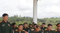 Đoàn công tác Bộ Tổng tham mưu kiểm tra tại Sư đoàn 324