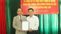 Trung tâm chống Phong - Da liễu có giám đốc mới