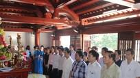 Lễ giỗ lần thứ 77 tưởng nhớ Nhà chí sỹ yêu nước Phan Bội Châu