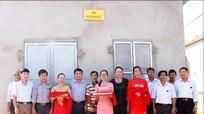 Nghi Lộc bàn giao nhà đại đoàn kết cho hộ giáo dân nghèo