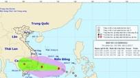 Áp thấp nhiệt đới đã mạnh lên thành cơn bão số 14