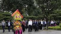Chủ tịch Quốc hội Nguyễn Thị Kim Ngân về thăm Khu di tích Kim Liên