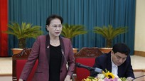 Chủ tịch Quốc hội: Nghệ An cần xác định rõ khâu đột phá mang tính động lực