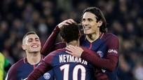 Cavani bất ngờ nhường quyền đá phạt đền cho Neymar