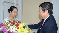 Bộ Y tế chúc mừng Bệnh viện HNĐK Nghệ An thực hiện thành công thụ tinh ống nghiệm