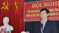 Phó Chủ tịch Thường trực UBND tỉnh Lê Xuân Đại tiếp xúc cử tri huyện Nghĩa Đàn