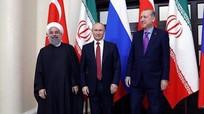 Tương lai nào cho Syria dưới sự 'nhào nặn' của Nga-Thổ Nhĩ Kỳ-Iran?