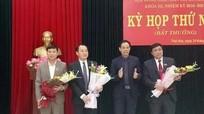 Phó Bí thư Thường trực Thị ủy Thái Hòa được bầu giữ chức chủ tịch HĐND thị xã