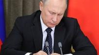 Tổng thống Putin phê chuẩn luật truyền thông 'đặc vụ ngoại quốc'