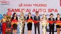 SAMURAI SPA - công nghệ chăm sóc xe hơi Nhật Bản lần đầu tiên có mặt tại Nghệ An