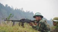 Bộ CHQS tỉnh diễn tập chiến thuật có bắn đạn thật