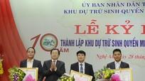 Kỷ niệm 10 năm thành lập Khu Dự trữ sinh quyển lớn nhất Việt Nam