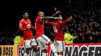 Man Utd thắng nhờ cú đúp của Young và siêu phẩm của Lingard