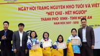 8 học sinh Nghệ An sẽ tham dự cuộc thi Trạng nguyên nhỏ tuổi toàn quốc