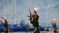 Lính thủy đánh bộ Nga diễn tập đổ bộ tại biên giới với Triều Tiên