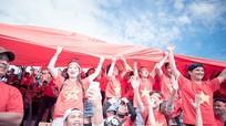 Tình yêu Tổ quốc trên những khán đài Giải U19 châu Á