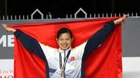 Kình ngư Ánh Viên nhận danh hiệu VĐV tiêu biểu 2017
