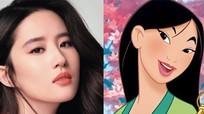 Lưu Diệc Phi gây tranh cãi khi trở thành 'công chúa Disney'