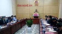 Tỉnh Nghệ An và Đại học Quốc gia Hà Nội bàn cụ thể các nội dung hợp tác